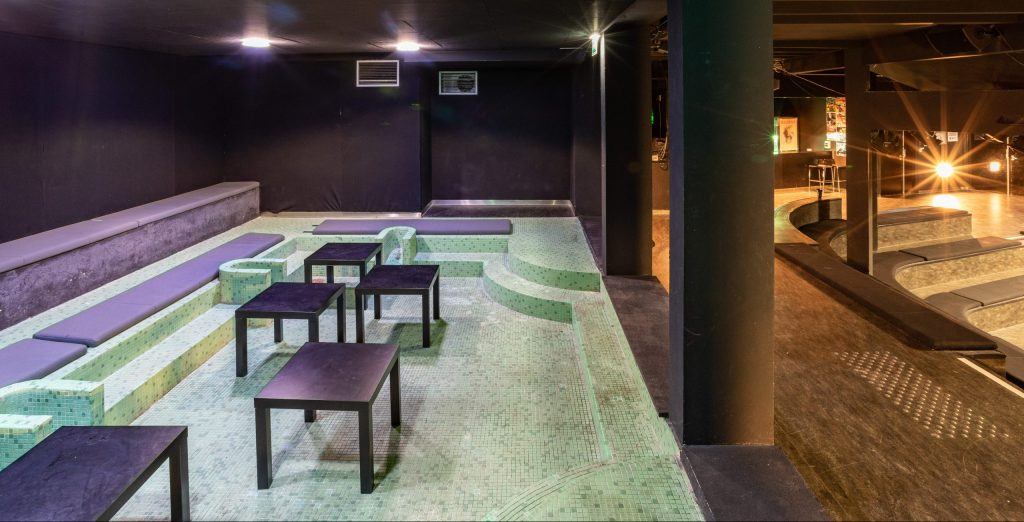 Photo de la salle de concert du Pédiluve