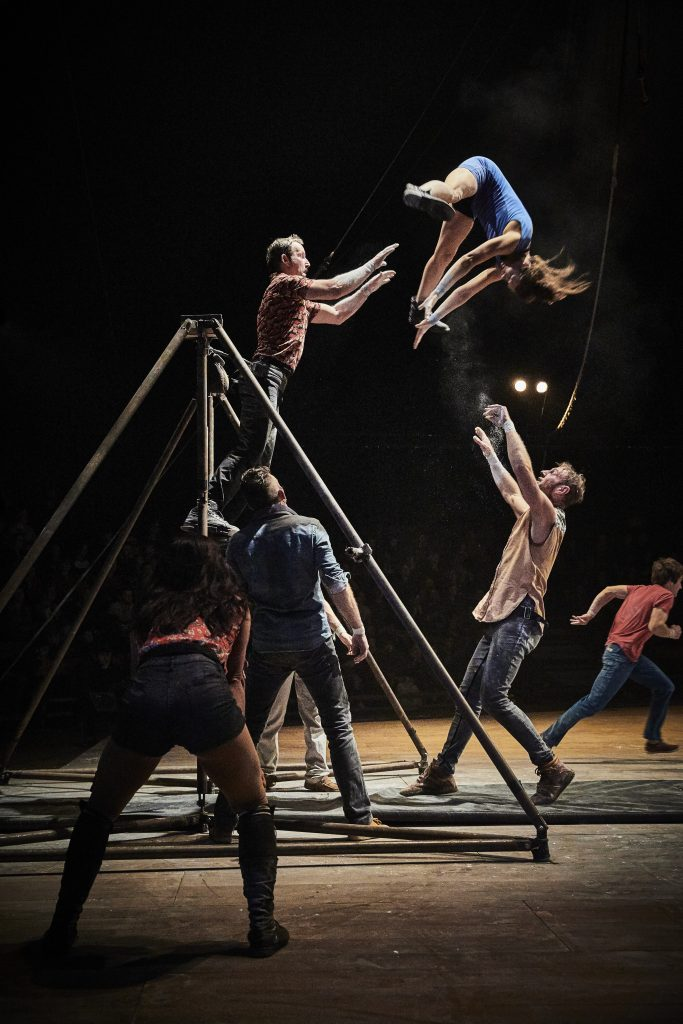 HURT ME TENDER du CirkVOST à l'Espace Cirque d'Atony, décembre 2019